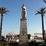 Guzmán el Bueno en la Alameda de Tarifa