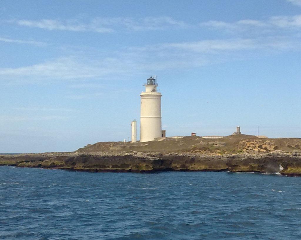 Faro en la Isla de Tarifa