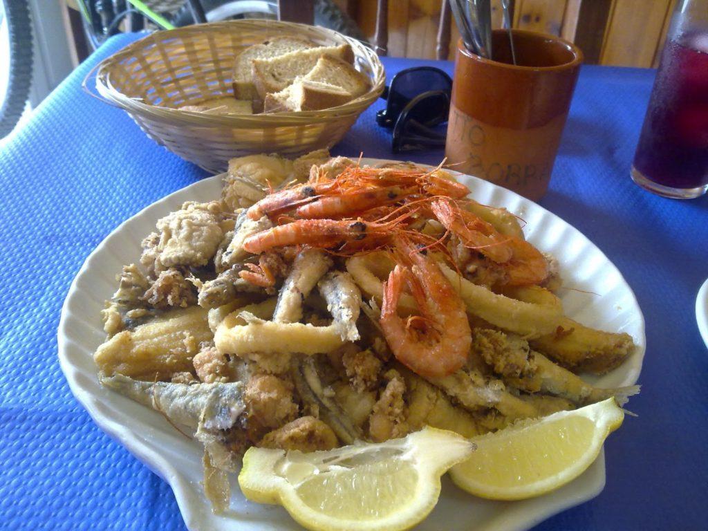 Pescado frito en Tarifa