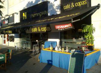 Bar de copas en Sevilla, Hemingway