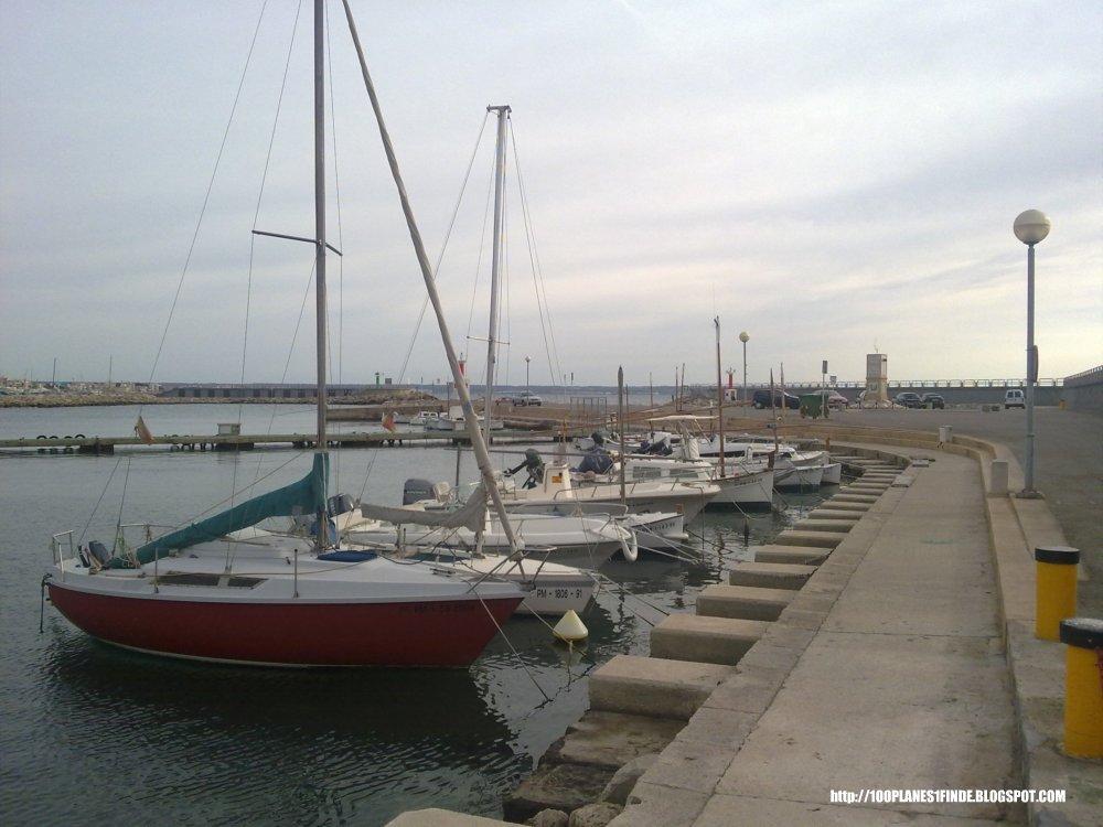 Puerto para barcos de recreo en Mallorca