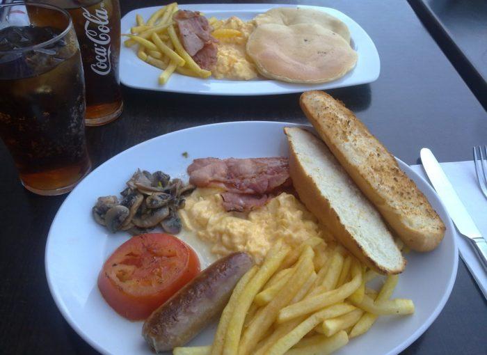 Dónde tomar Desayunos VIPS en Sevilla