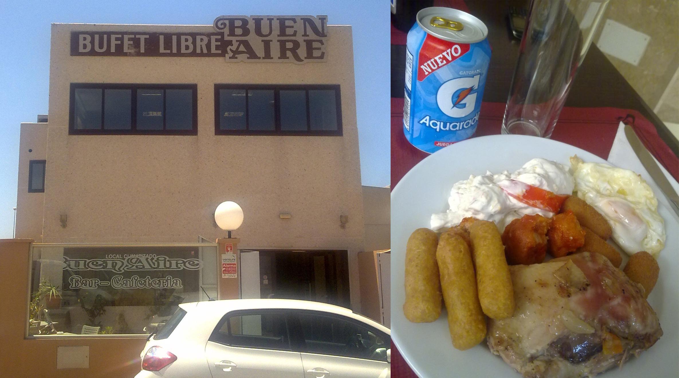 Buffet libre en Tarifa