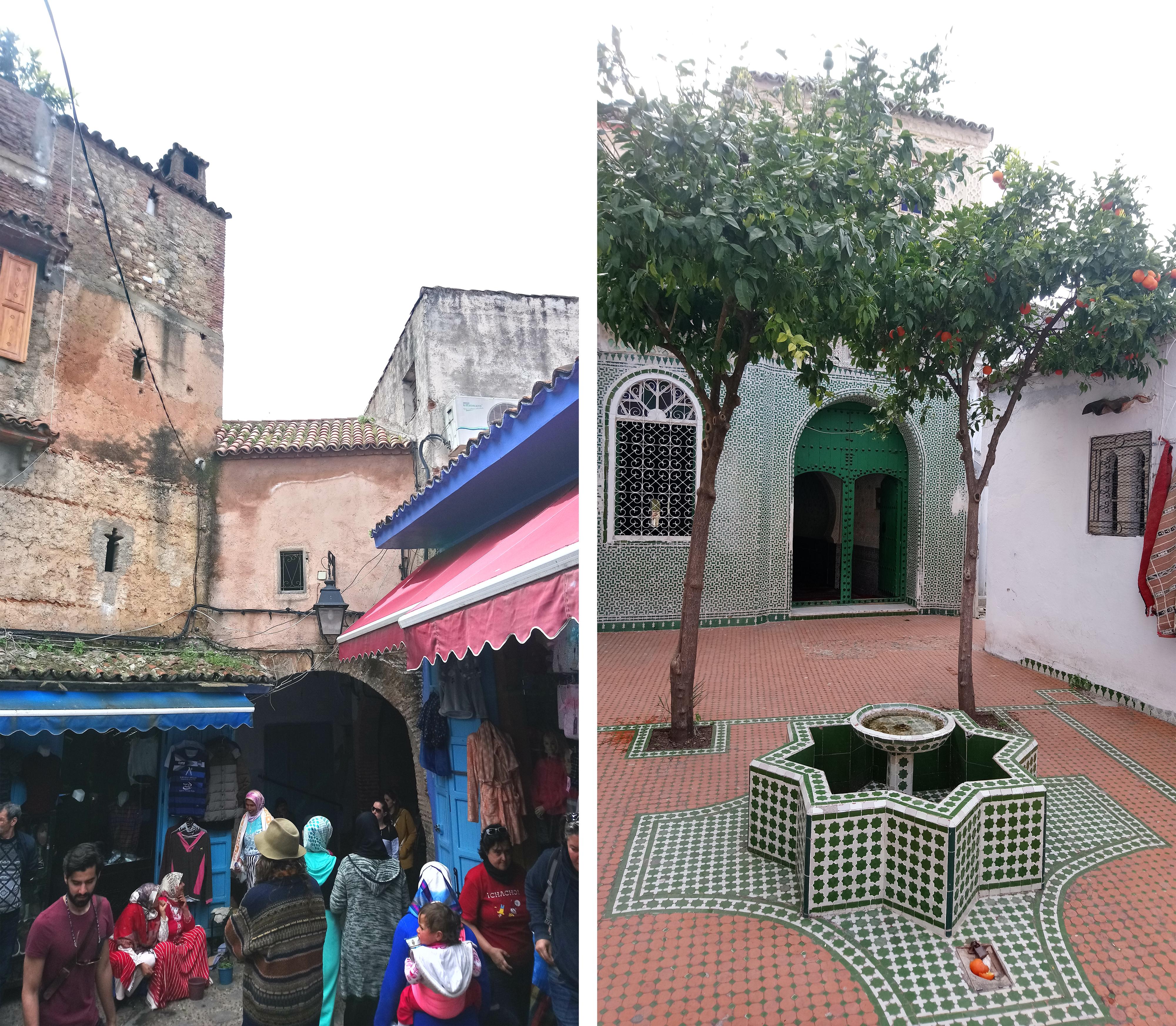 Mercado en Chaouen