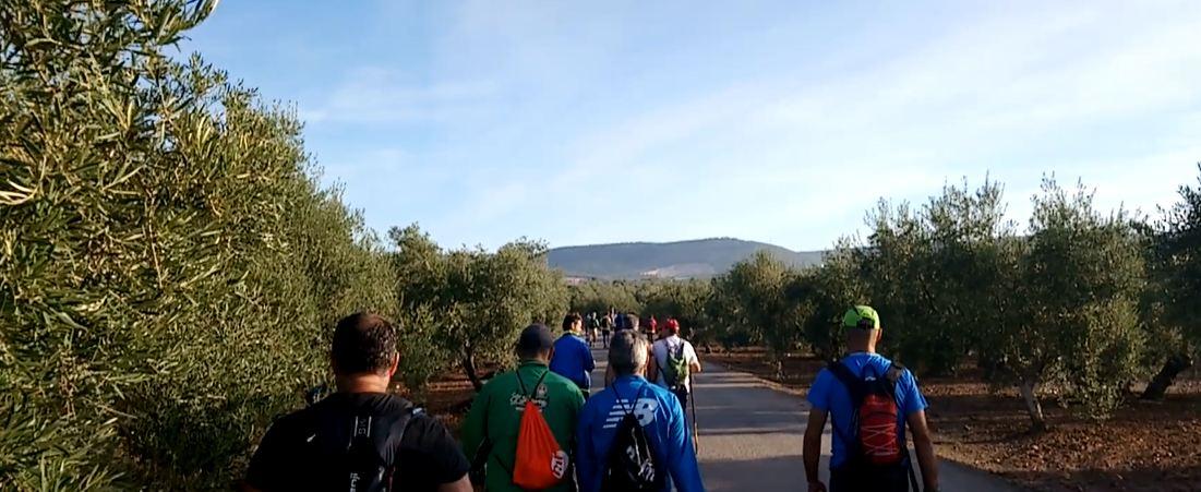 Salida del Camino de la Frontera desde Pedrera