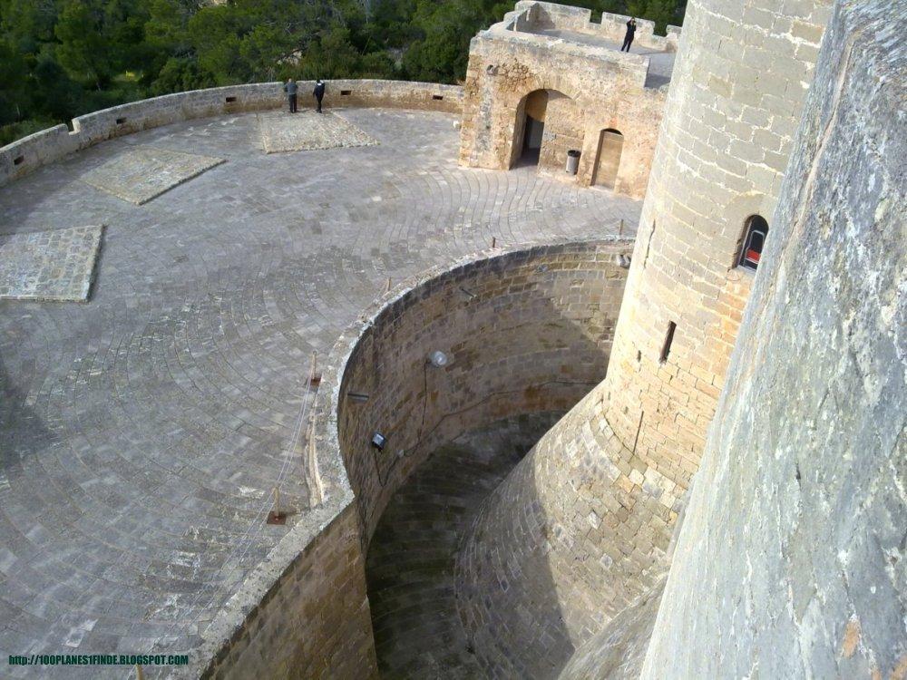 Castillo de Bellver en Mallorca