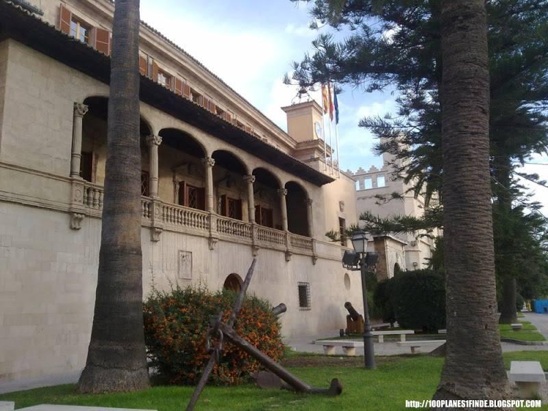 Edificio de la Consejería de Presidencia de Baleares