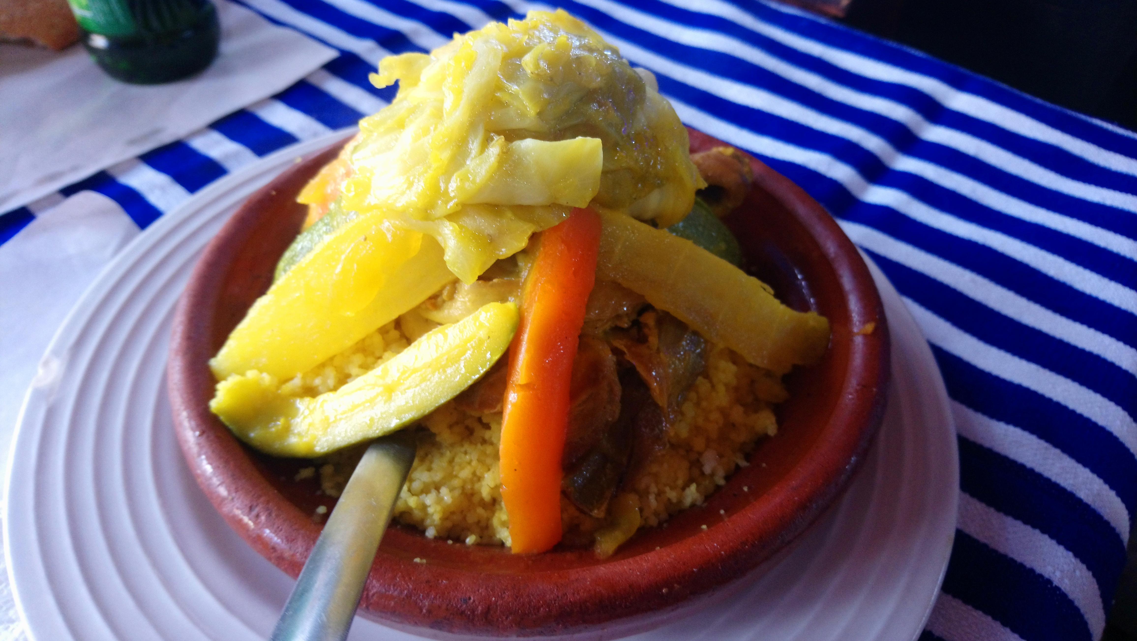 Comer cous cous en Marruecos