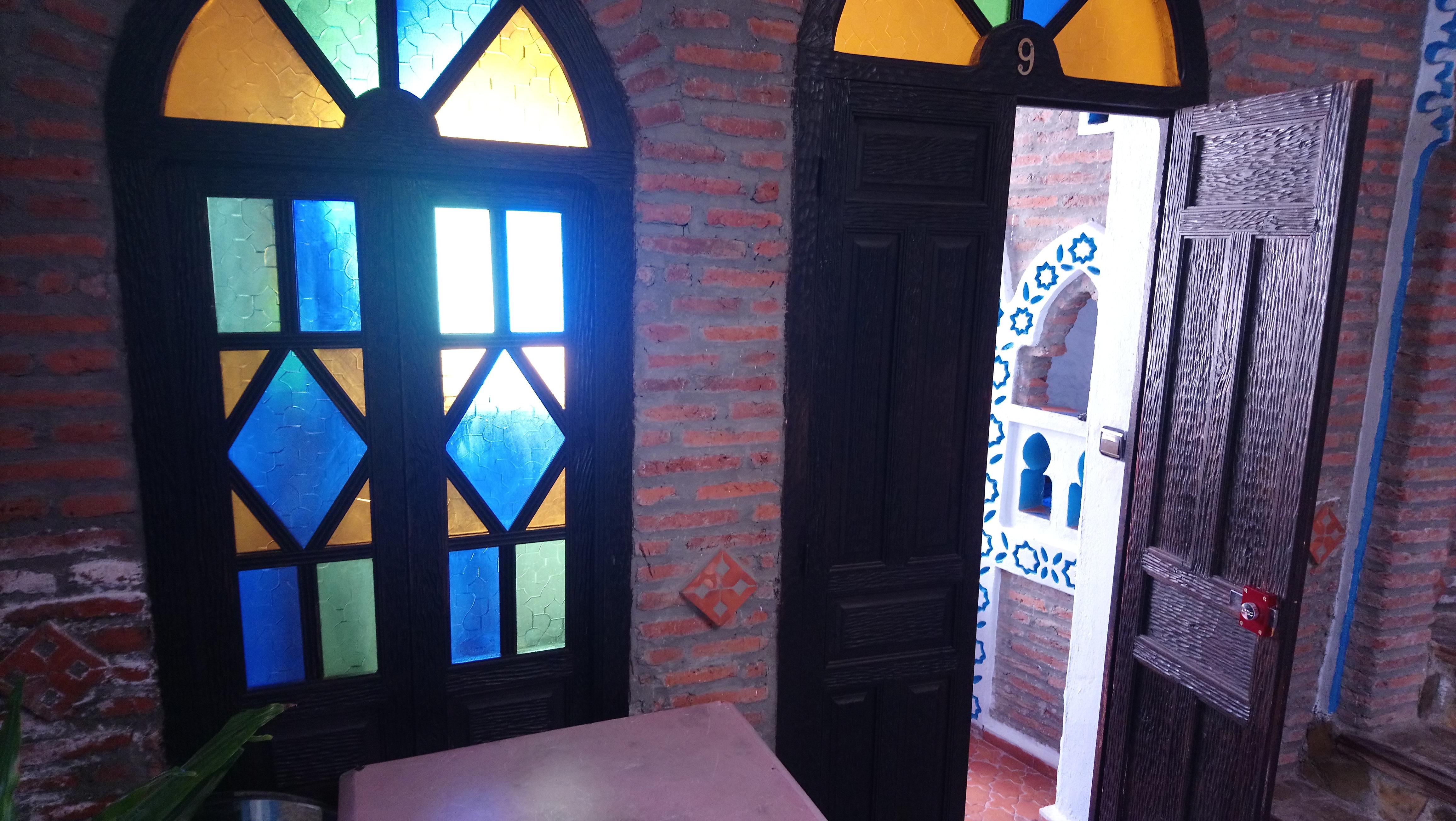 Ventana de la habitación de Dar Touijar