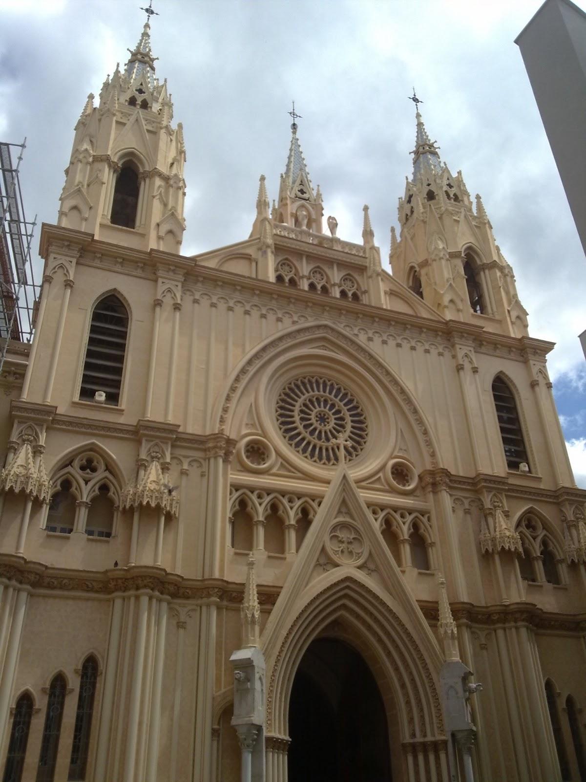 Iglesia del Sagrado Corazón en Málaga