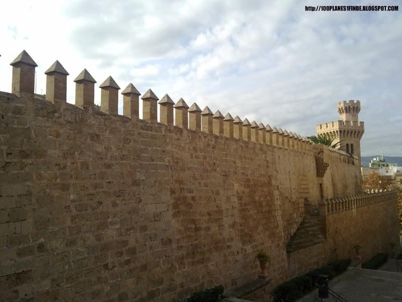 Palacio de la Almudaina en Mallorca