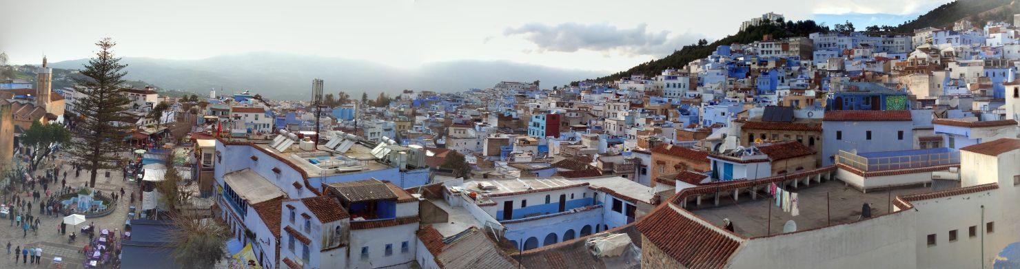 Chaouen y sus casas pintadas de azul