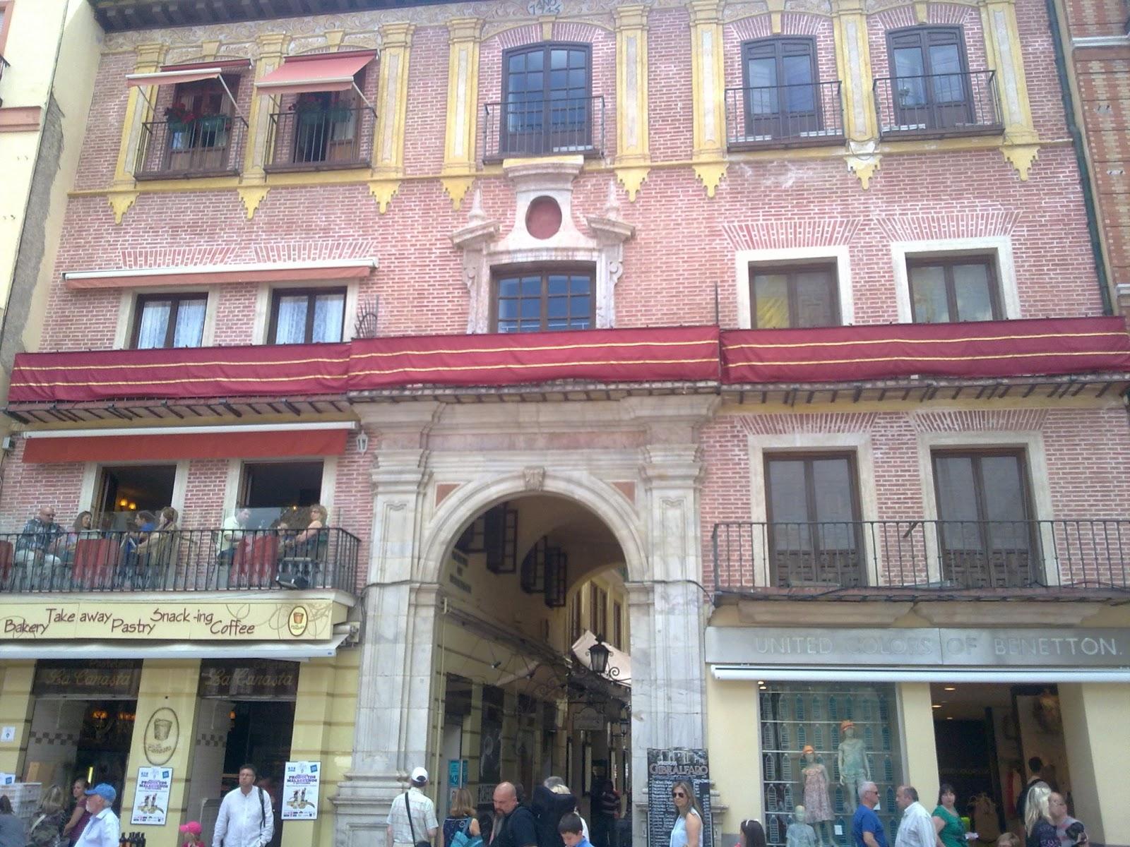 Antigua portada del Convento de Religiosas Agustinas Descalzas