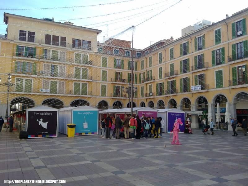 Plaça Major en Palma de Mallorca