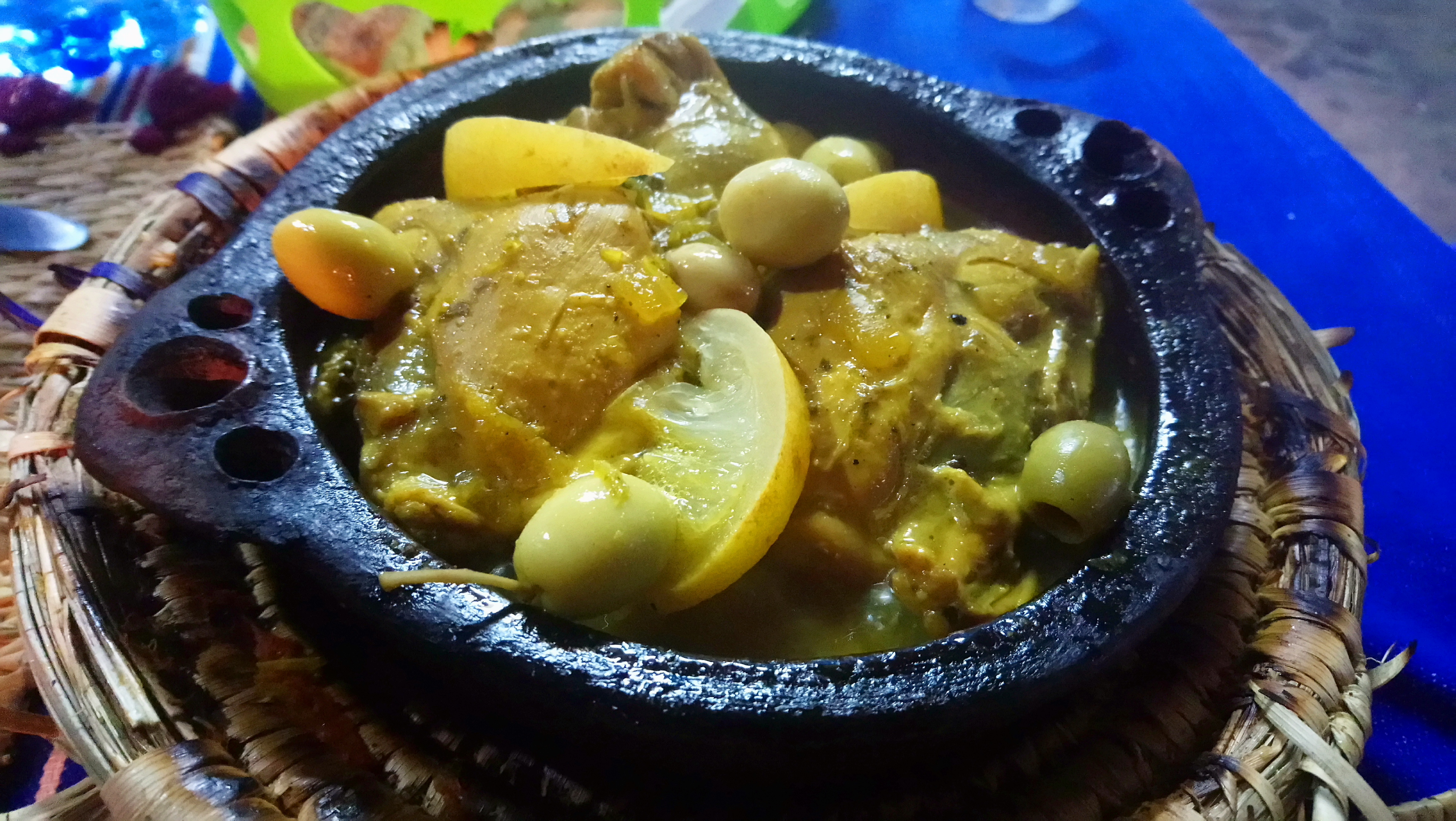 Cenar bien y a buen precio en Chaouen