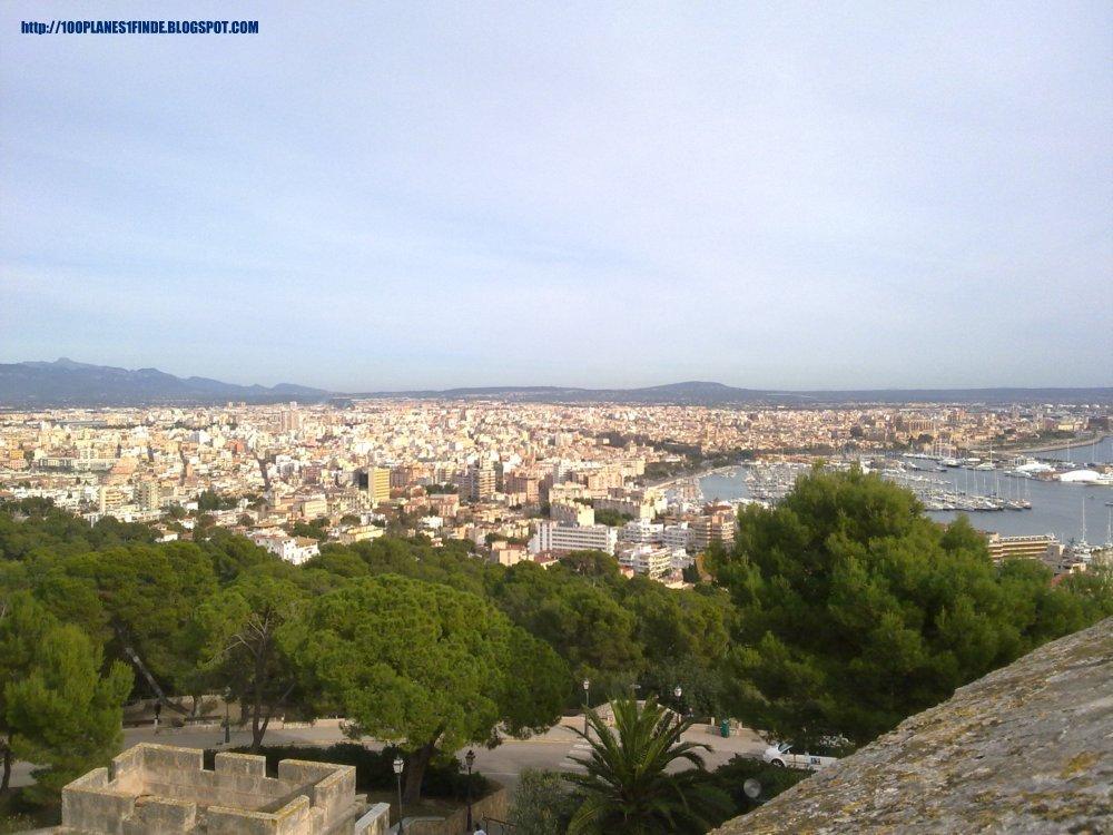 Mirador de Palma desde el Castillo de Bellver