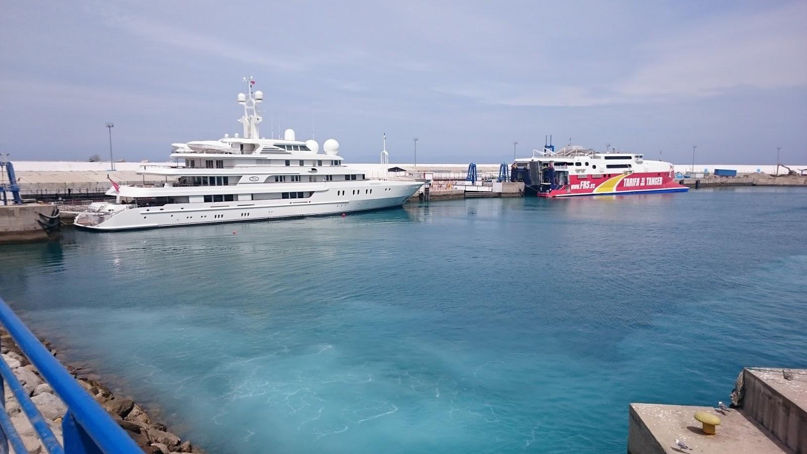 Barcos en el Puerto de Tánger