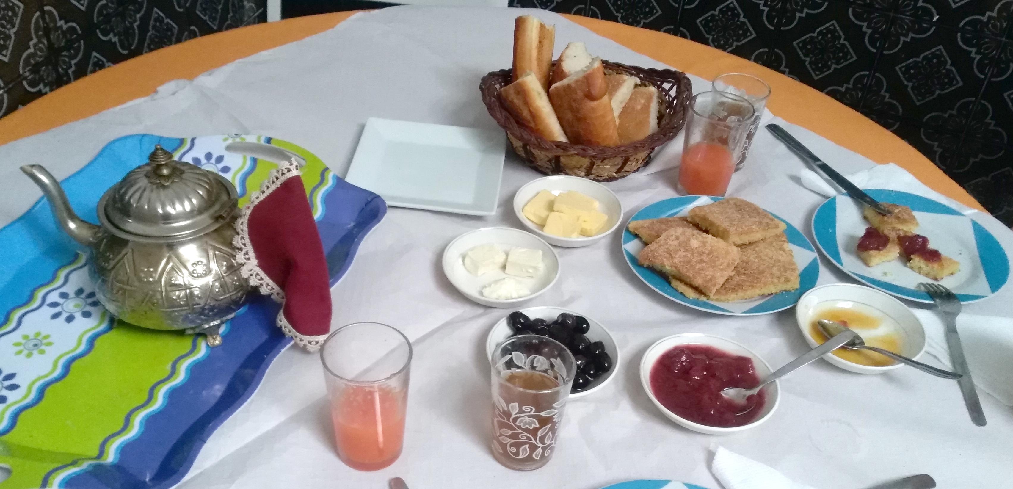 Desayunar en Tetuán