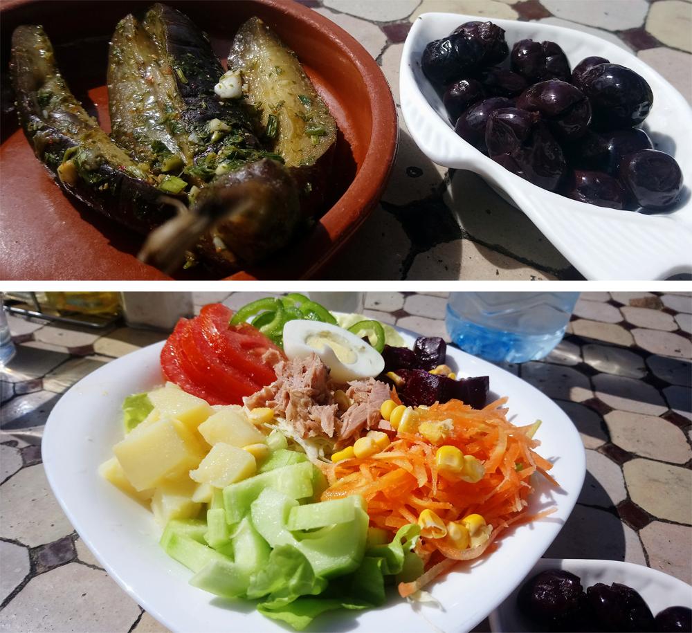 Almorzar en Casa La Place frente al Puerto de Assilah