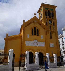 Iglesia católica en Tetuán