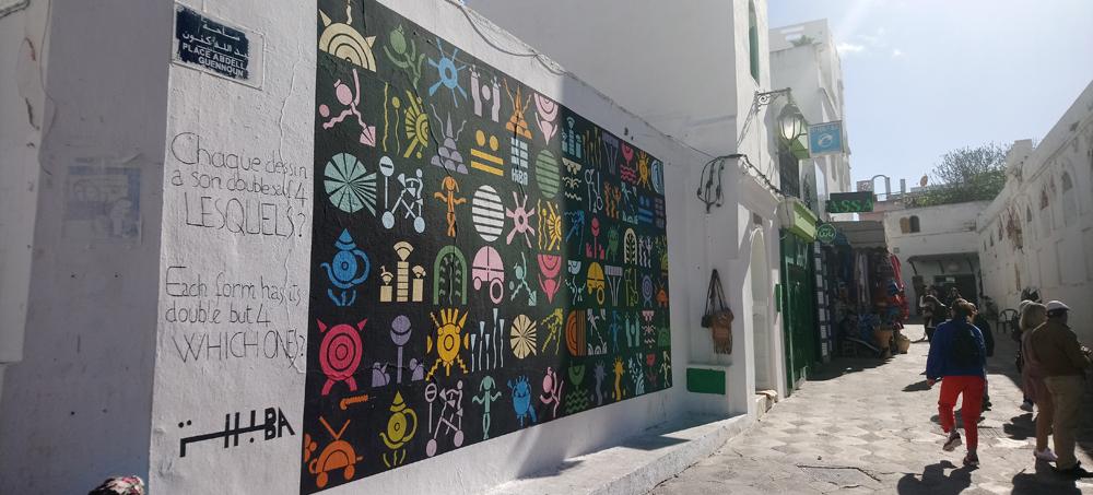Arte por las calles de Assilah