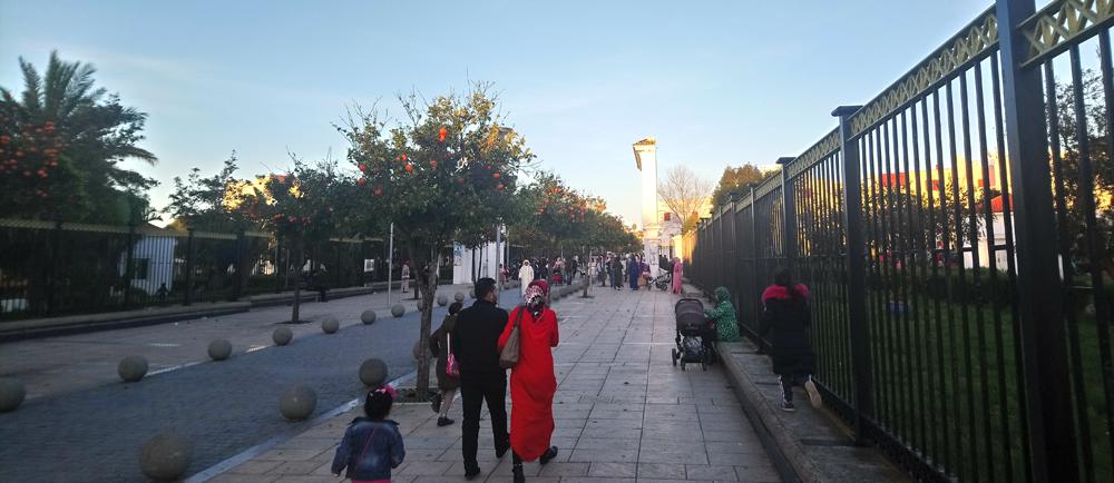 Parque Mohamed V en Arcila