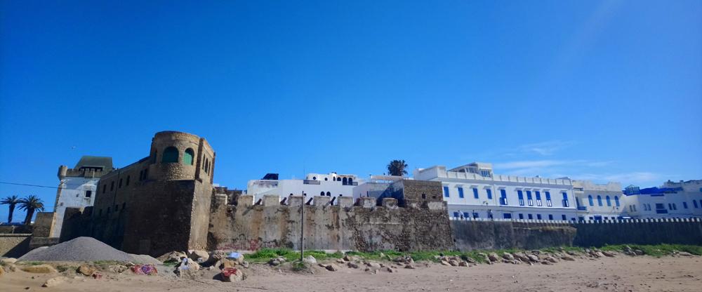 Muralla de la medina de Arcila