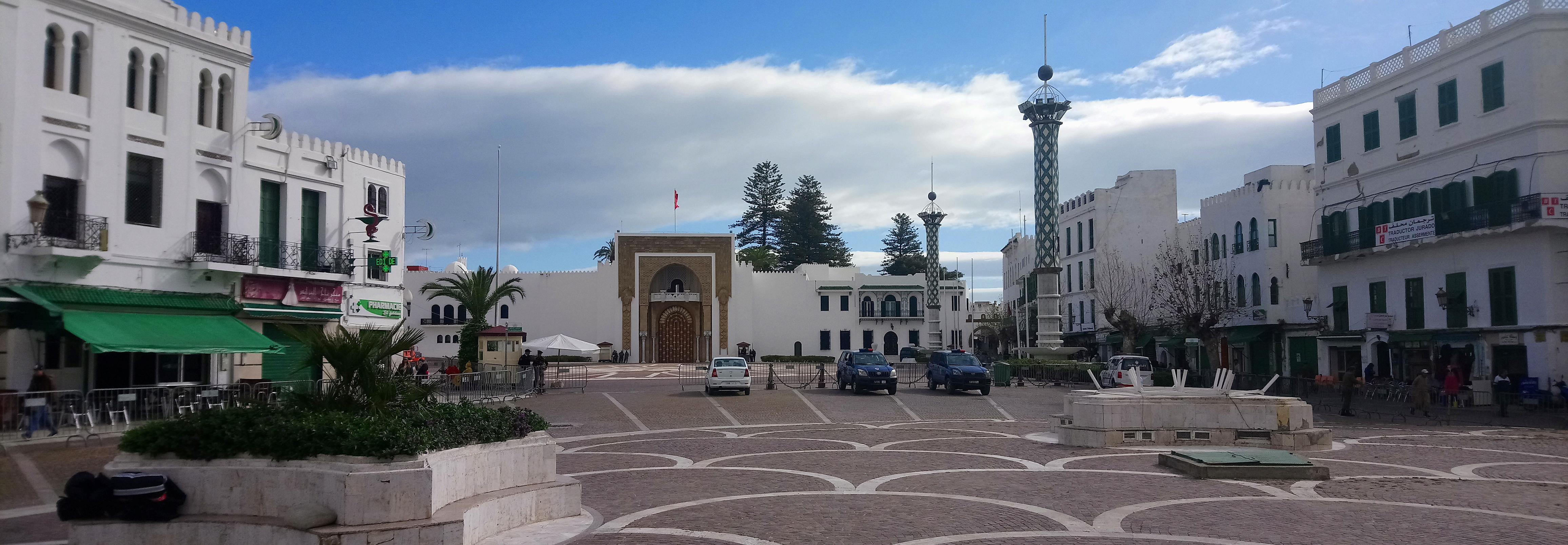 Palacio Real en Tetuán