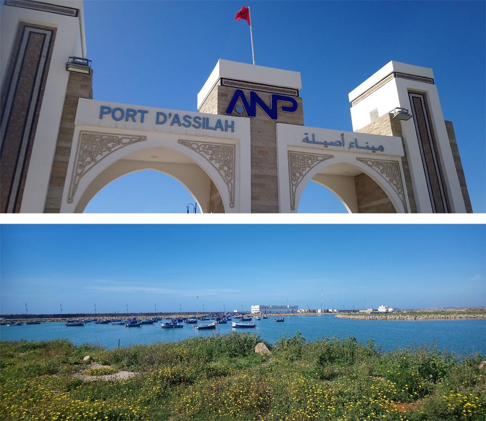 Entrada al puerto de Assilah