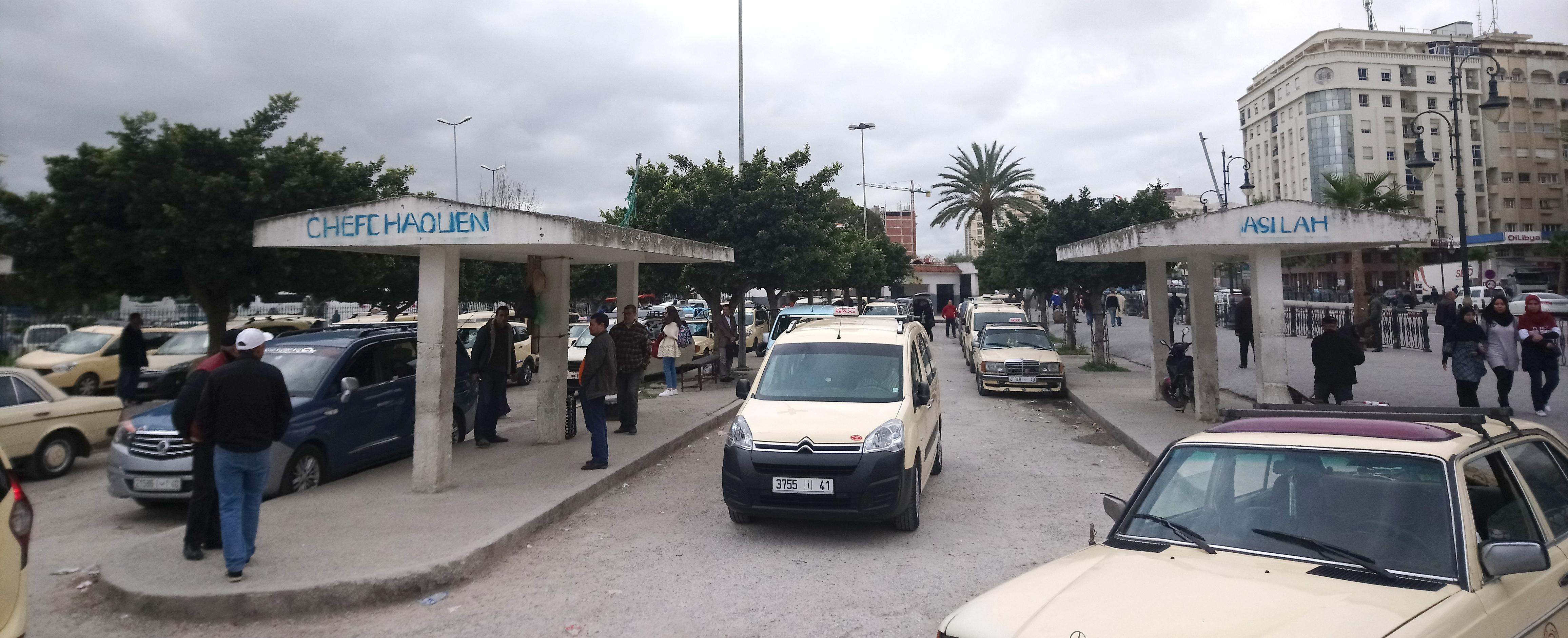 Taxi compartido a Chaouen