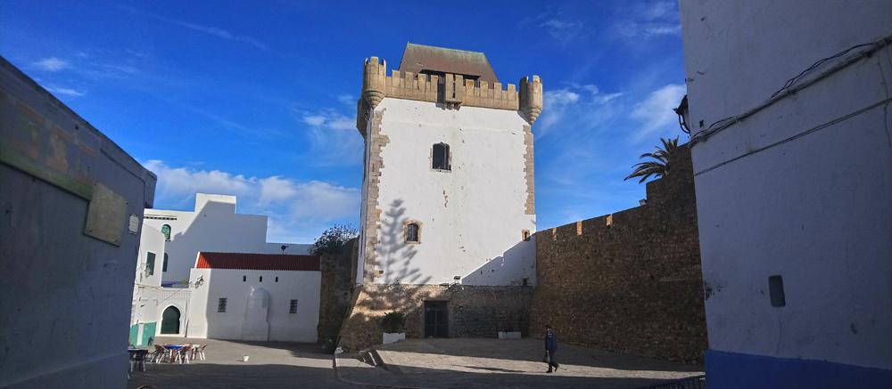 Torre de la medina de Arcila