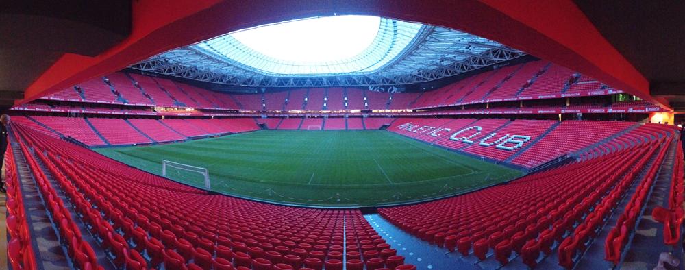 Campo de juego del Athletic de Bilbao