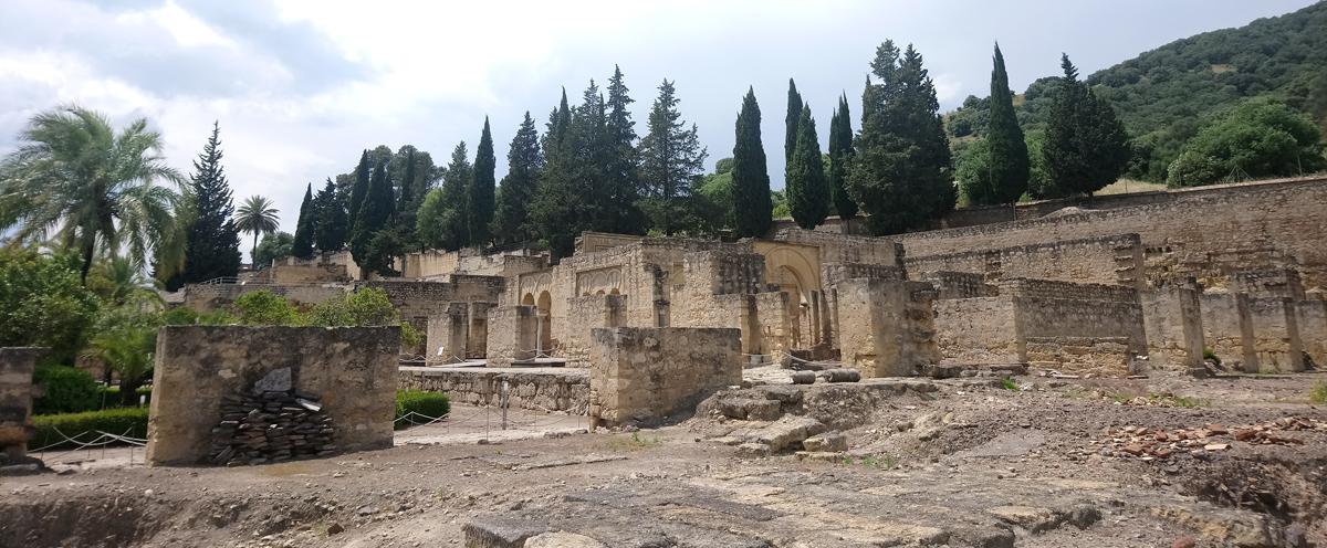 Vista general de Medina Azahara