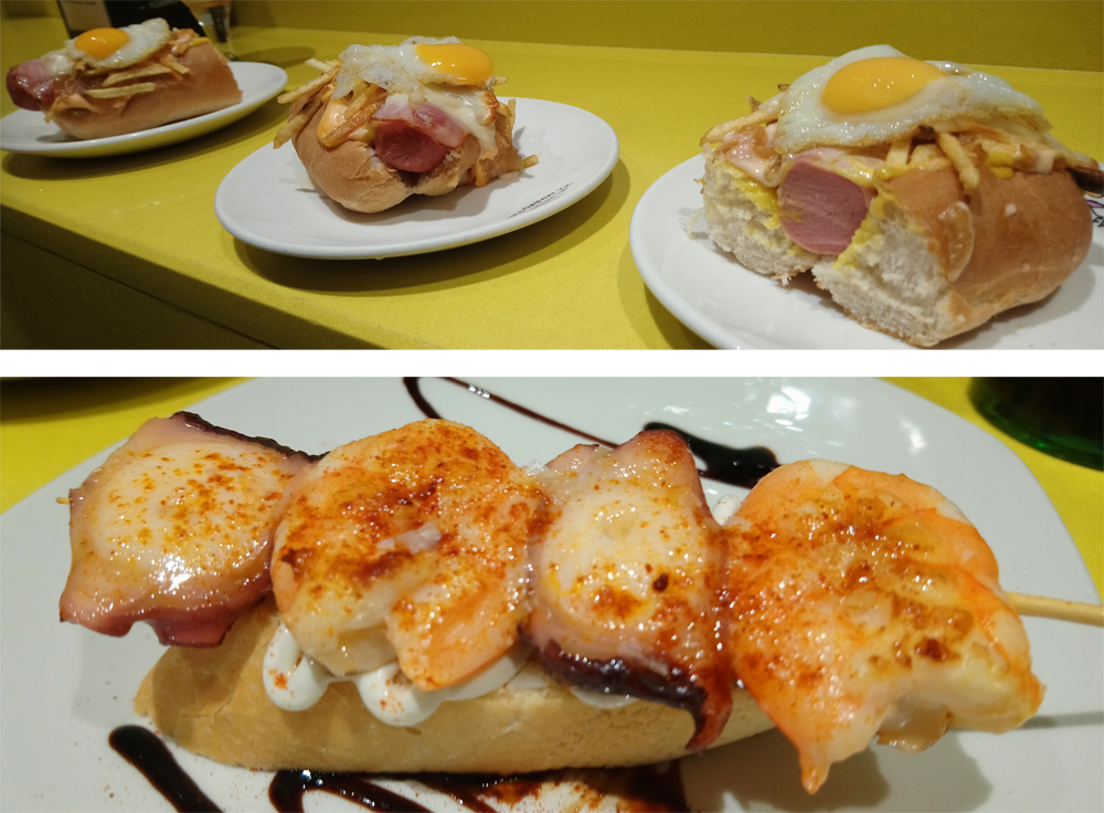 El Huevo Frito, bar de pintxos en Bilbao