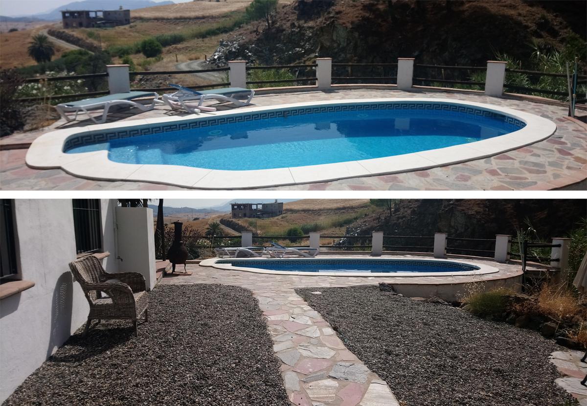 Casa Rural y Piscina cerca de Álora