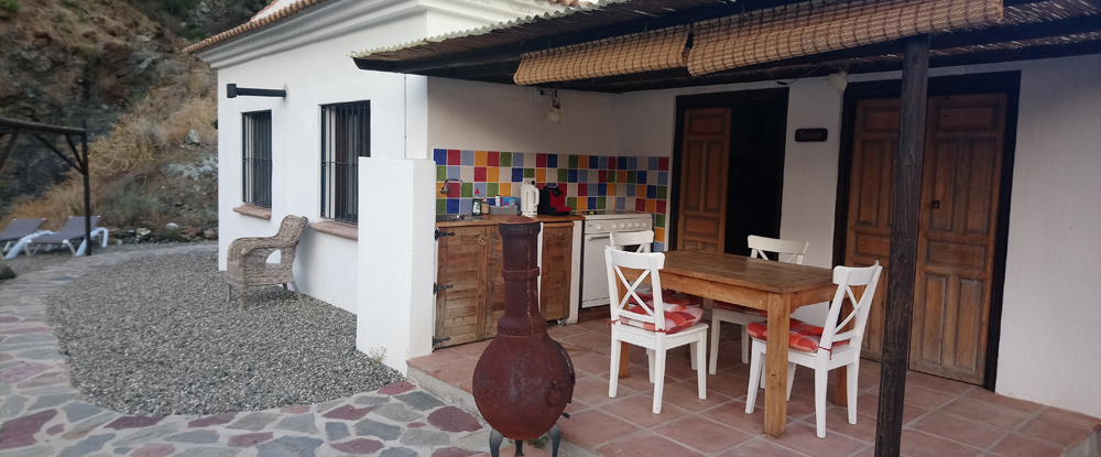 Cocina de la Casa Rural en Álora