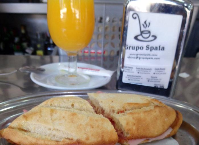 Desayunar en Sevilla: Restaurante Spala Encarnación