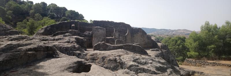 Iglesia hecha en la piedra en Bobastro