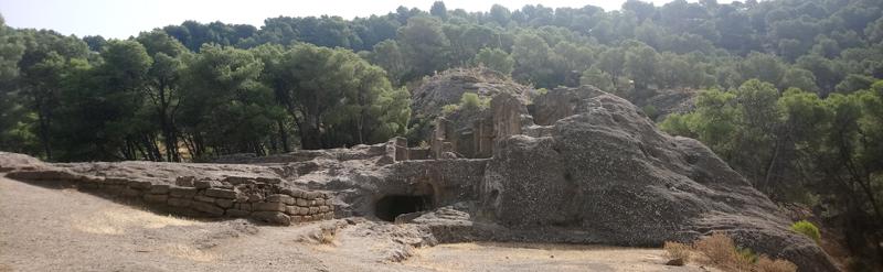 Bobastro, antiguo poblado cristiano de Al Andalus