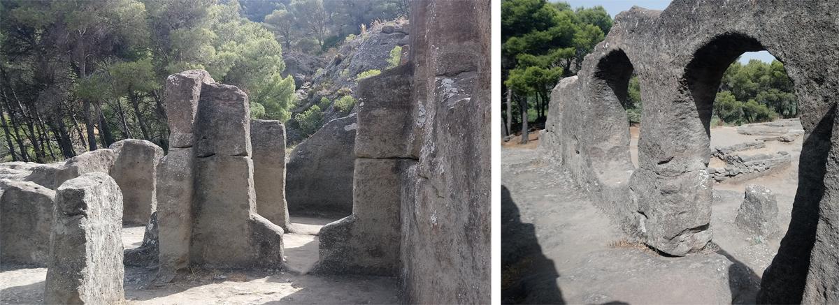 Resto de la iglesia rupestre de Bobastro