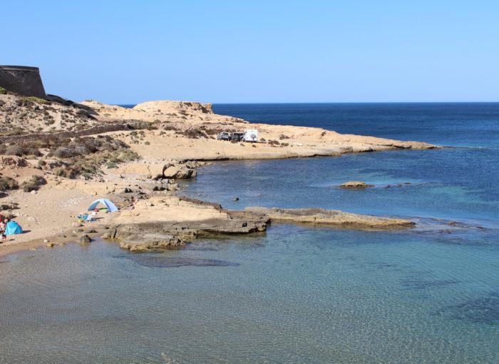 Playas y Calas recomendadas en Cabo de Gata