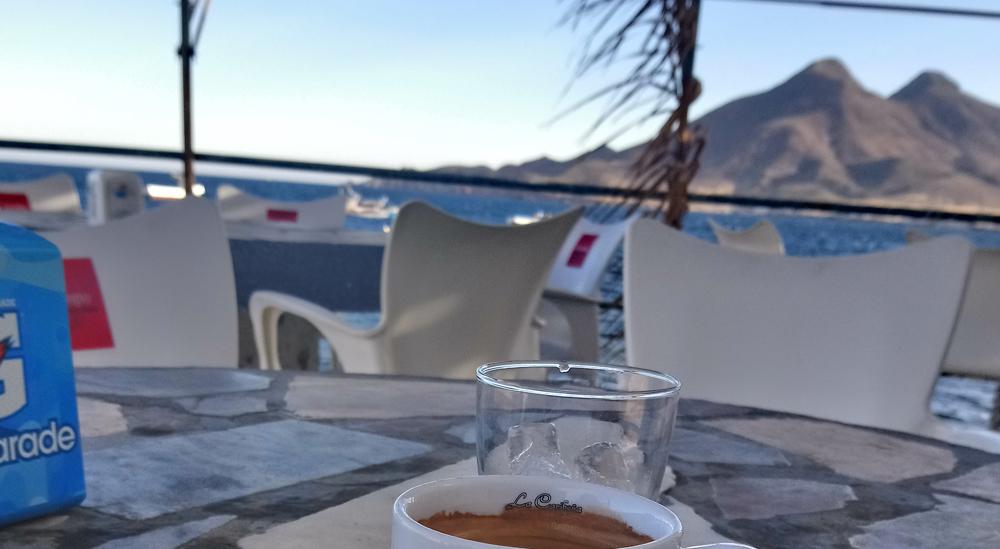 Dónde no tomar café en la Isleta del Moro