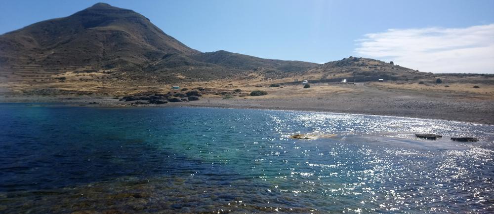 Cala Grande en Cabo de Gata