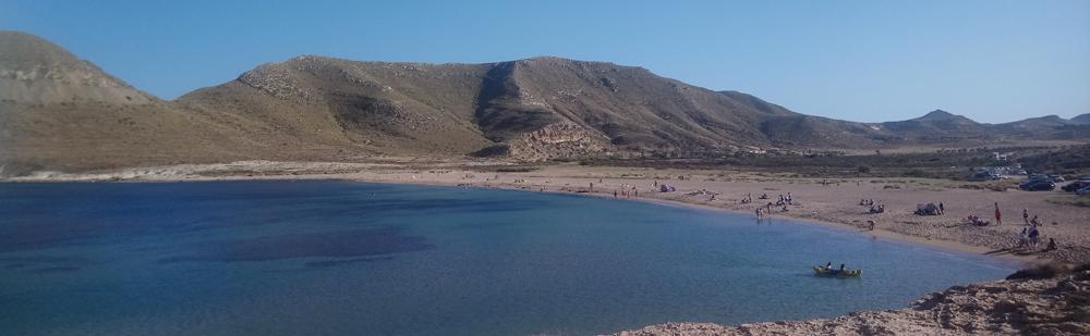 El Playazo de Rodalquilar en Cabo de Gata