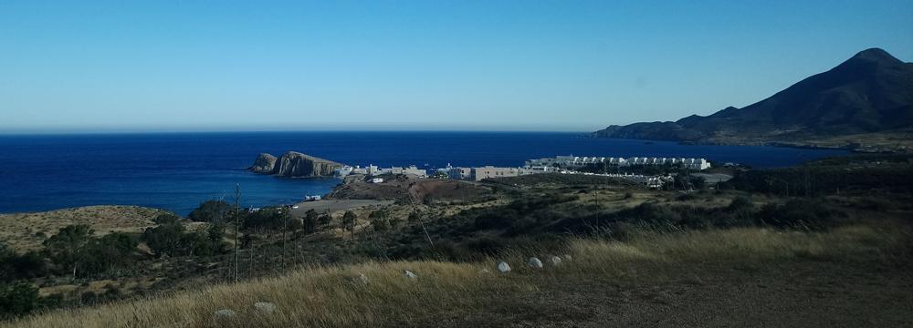 Vista de la Isleta del Moro