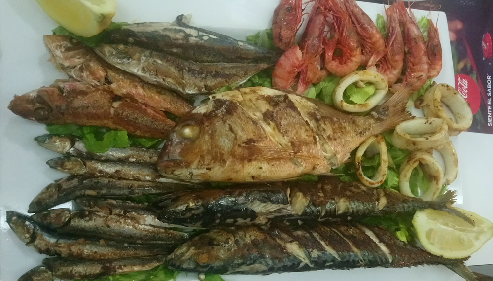 Fritura variada de pescado