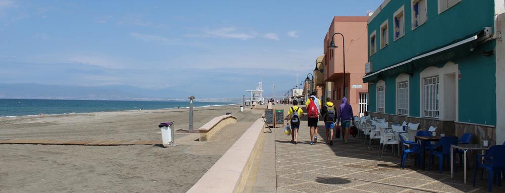 Paseo marítimo de San Miguel de Cabo de Gata