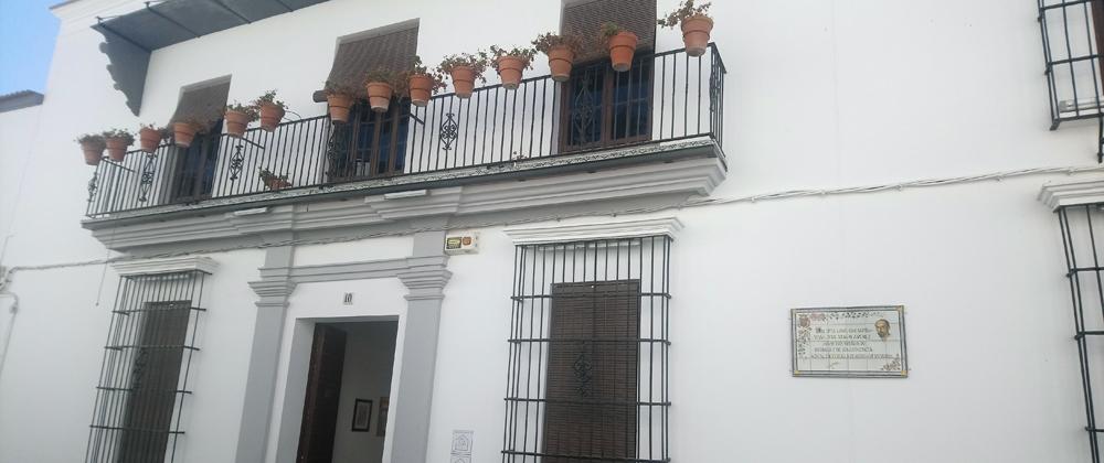 Puerta de la Casa Museo de Zenobia y Juan Ramón