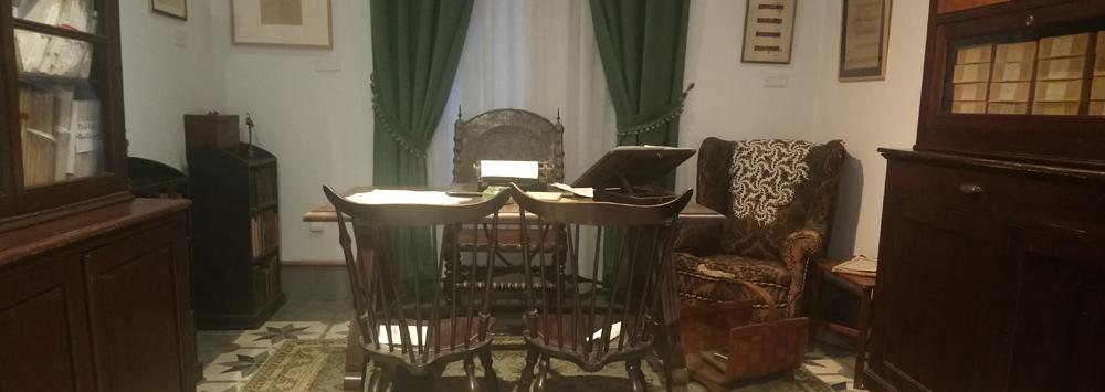 Foto del despacho de Juan Ramón Jiménez