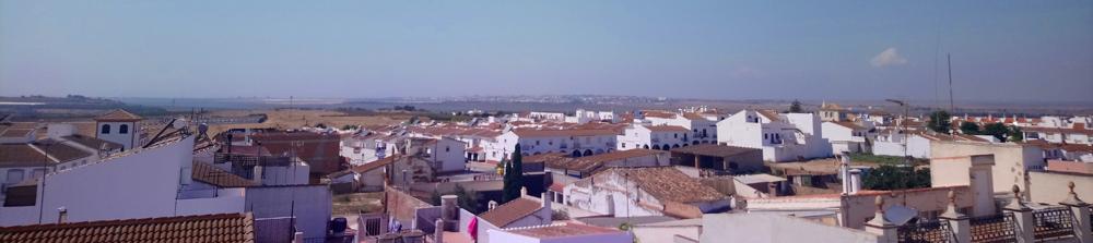 Vistas desde el Torreón de la Casa de Juan Ramón